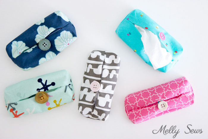 Tutorial: Travel tissue holder