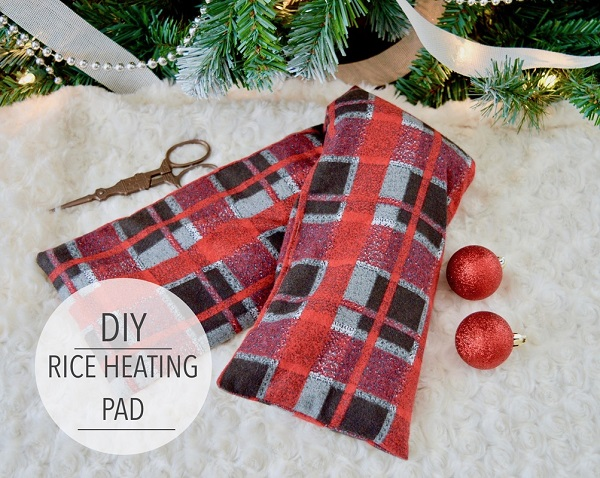Tutorial: Rice filled heating pad