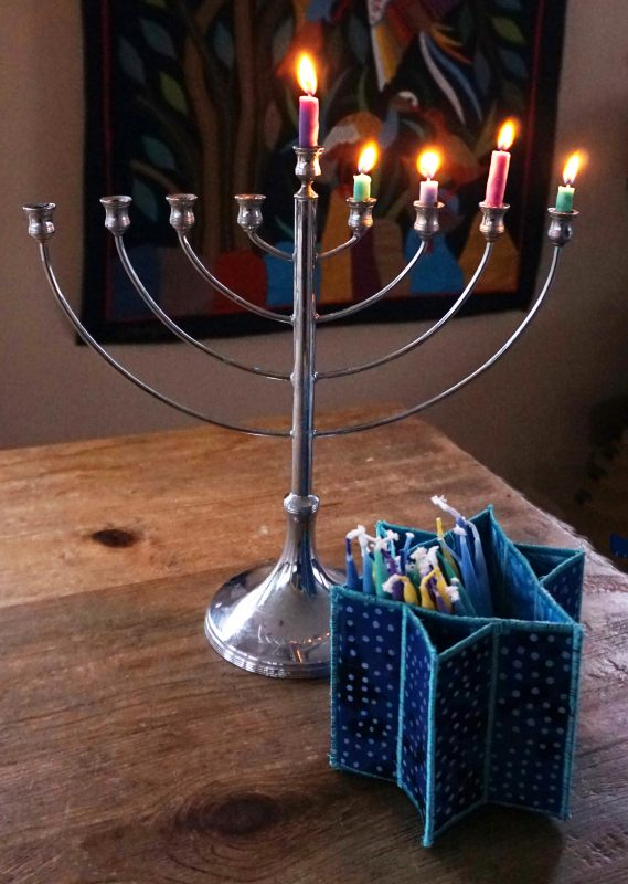 Tutorial: Fabric Hanukkah candle box