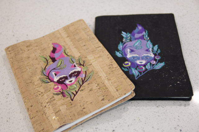 Video tutorial: Cork or leather notebook cover