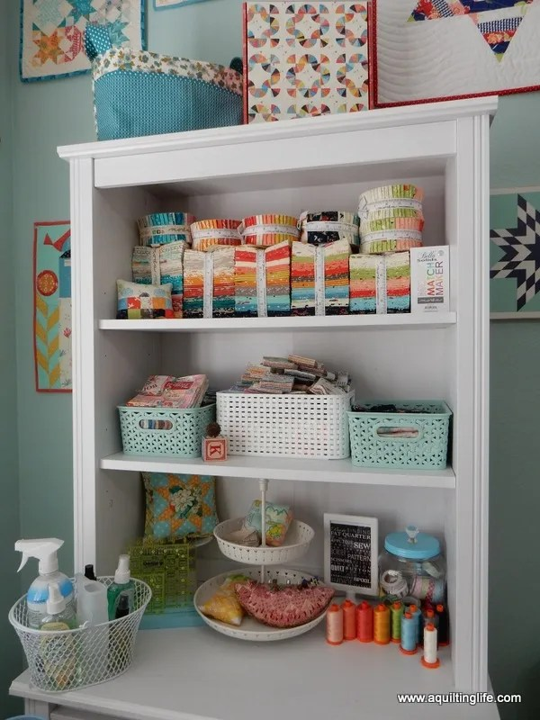 Need to purge your fabric stash? Here are some tips