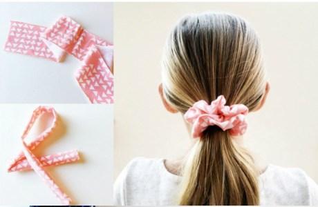Tutorial: Easy hair scrunchie