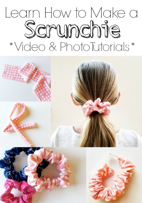 Tutorial: Easy hair scrunchie