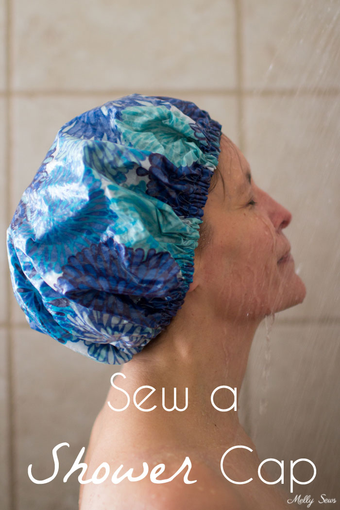 Tutorial: Easy shower cap