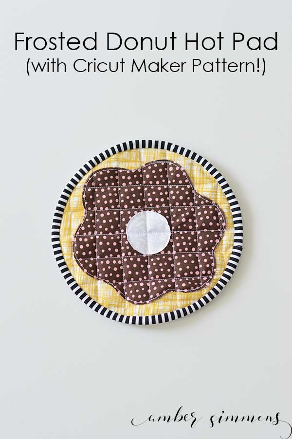 Tutorial: Donut hot pad – Sewing