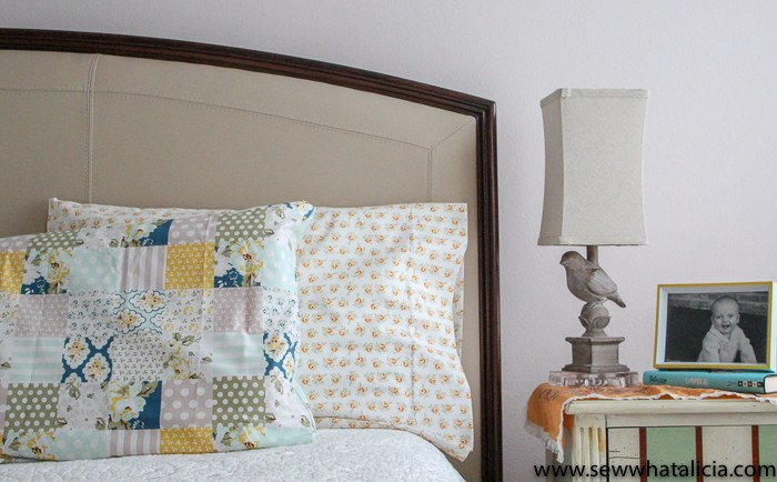 Tutorial: Sew an easy pillowcase