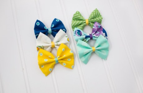 Tutorial: Easy no-sew hair bows