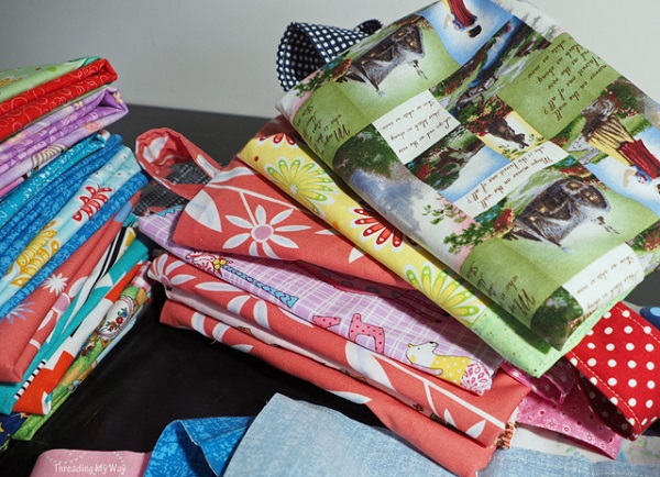 How to tackle a repetitive sewing project and keep it fun