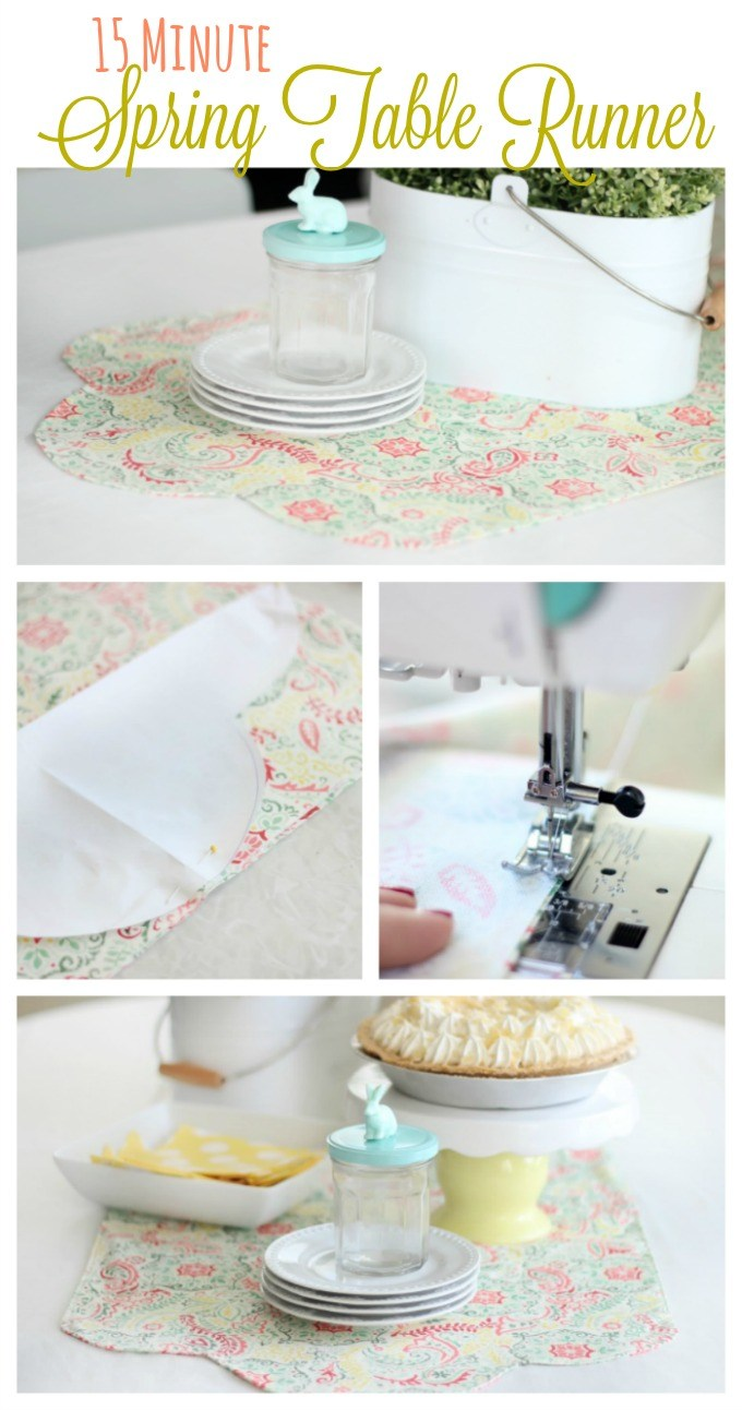 Tutorial: 15 minute table runner