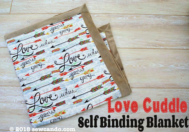 Tutorial: Self-binding Minky blanket