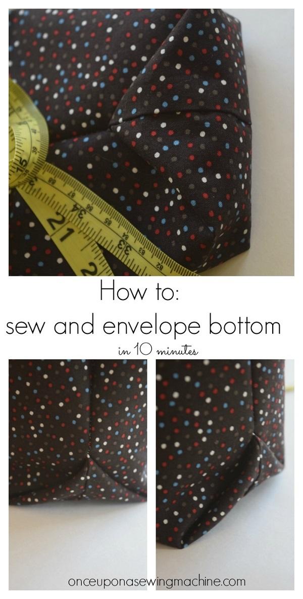Tutorial: Easy method for boxing a bag bottom