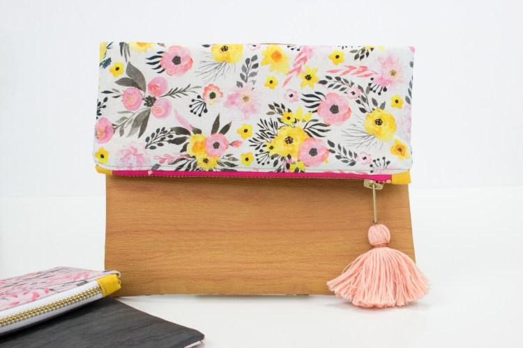 Tutorial: Foldover clutch purse