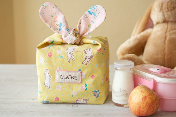 Tutorial: Knotted ear bunny snack bag
