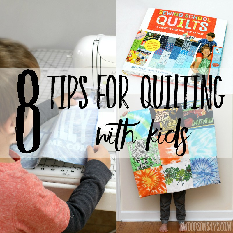 Tips for teaching kids to quilt