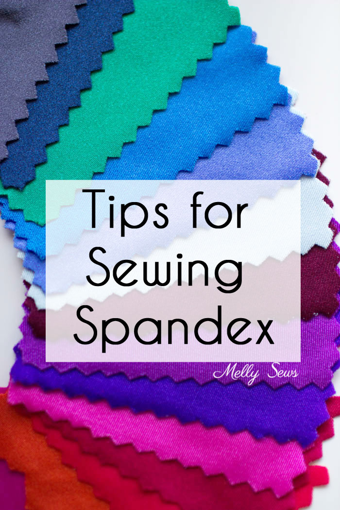 Tips for sewing Spandex