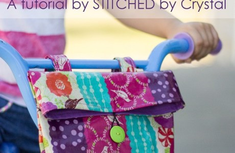 Tutorial: Bike handlebar bag for kids