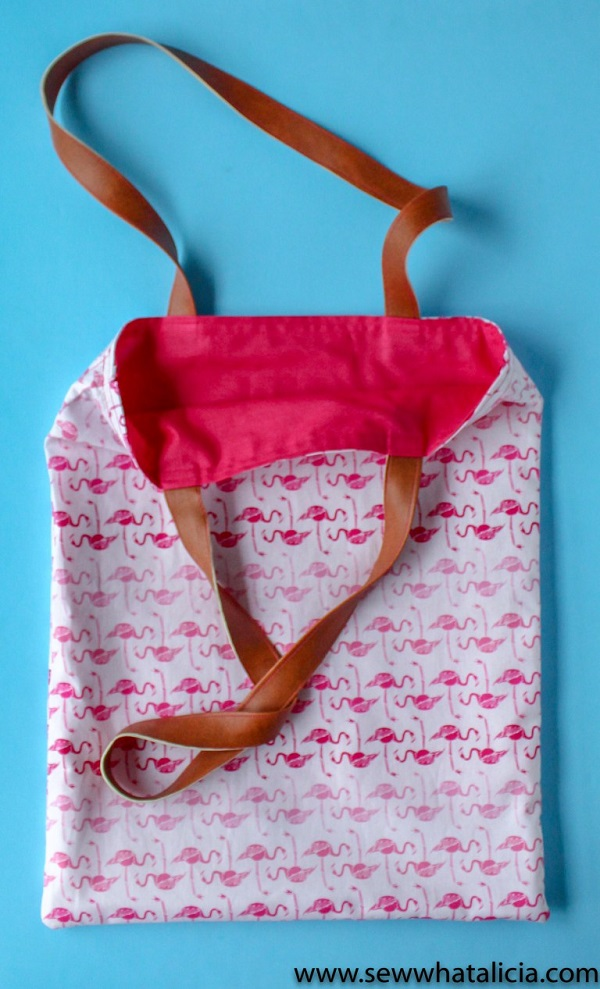 Tutorial: Easy 15-minute tote bag