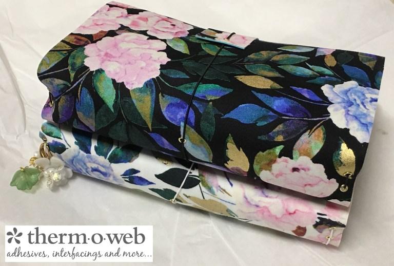 Tutorial: No-sew fabric journal