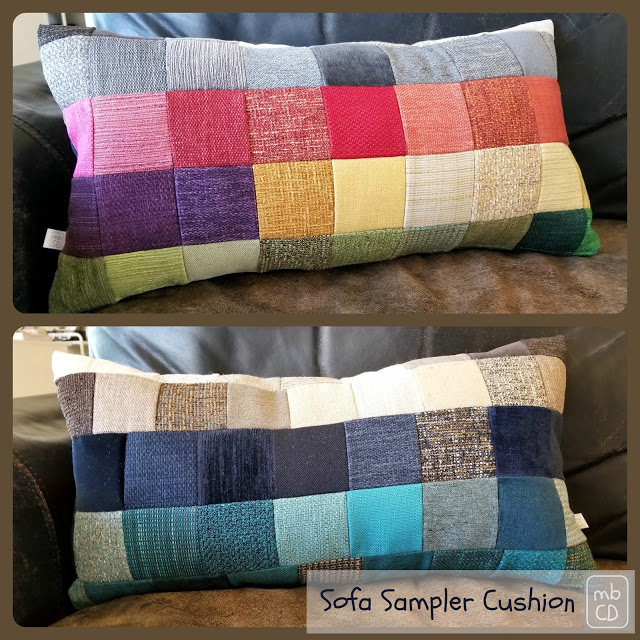 Tutorial: Modern Patchwork Upholstery Fabric Throw Pillow