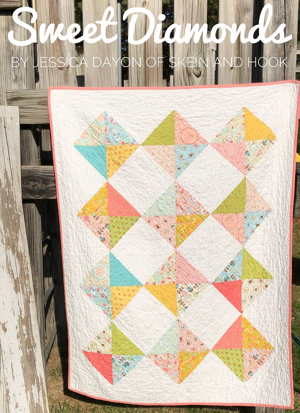 Tutorial: Sweet Diamonds baby quilt