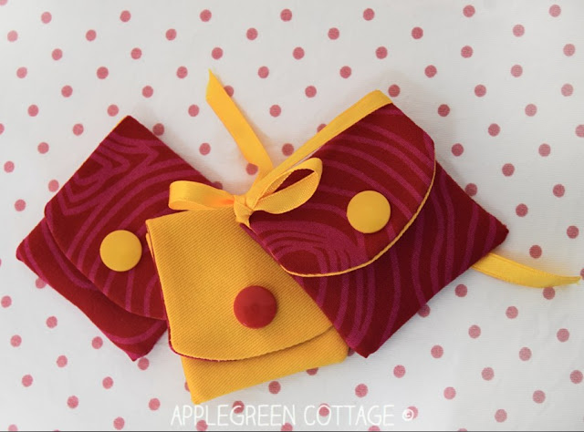 Sewing tutorial: Mini snap pouch