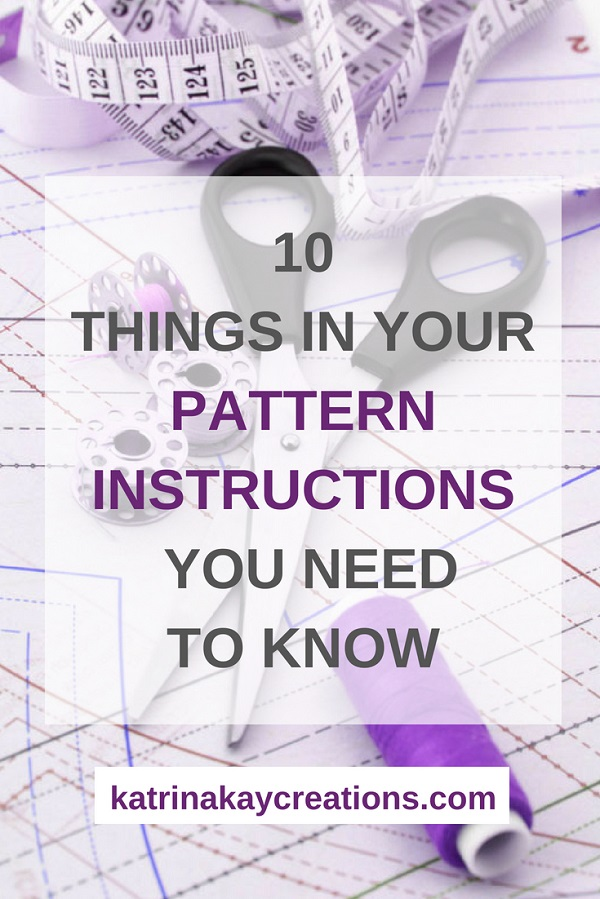 Sewing tutorial: How to read a printed sewing pattern