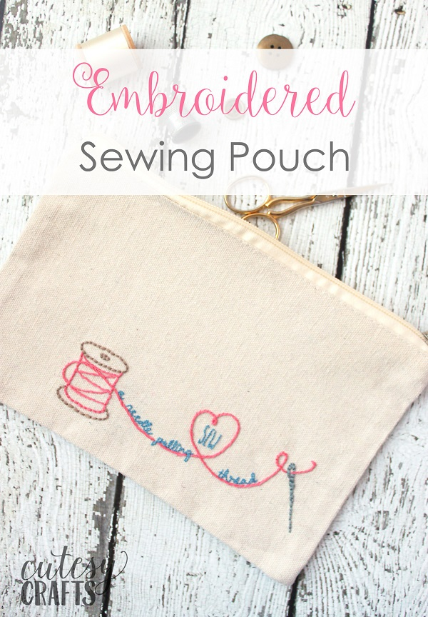 Free embroidery pattern: Sew A Needle Pulling Thread