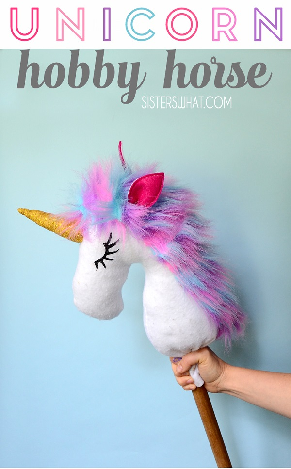 Sewing tutorial: Unicorn hobby horse