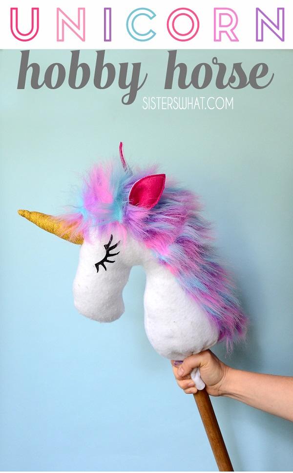 Sewing tutorial: Unicorn hobby horse