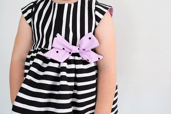 Sewing tutorial: Reversible toddler dress