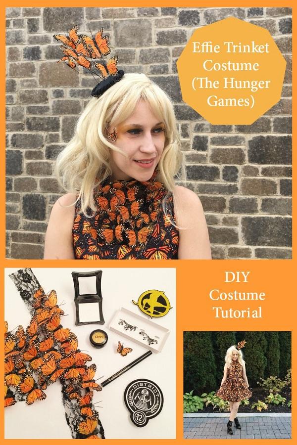 Sewing tutorial: Hunger Games Effie Trinket costume