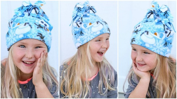 Sewing tutorial: Easy fleece hat