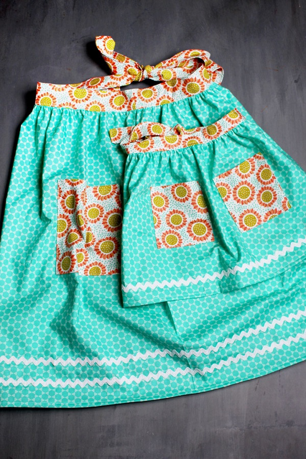 Sewing tutorial: Easy apron for kids or adults