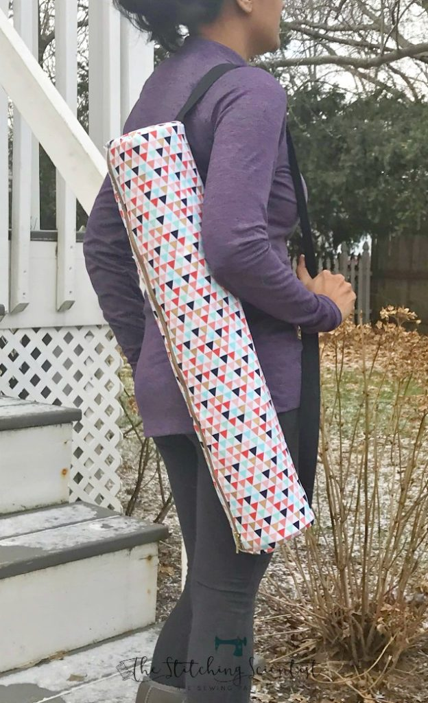 Sewing tutorial: Yoga mat bag