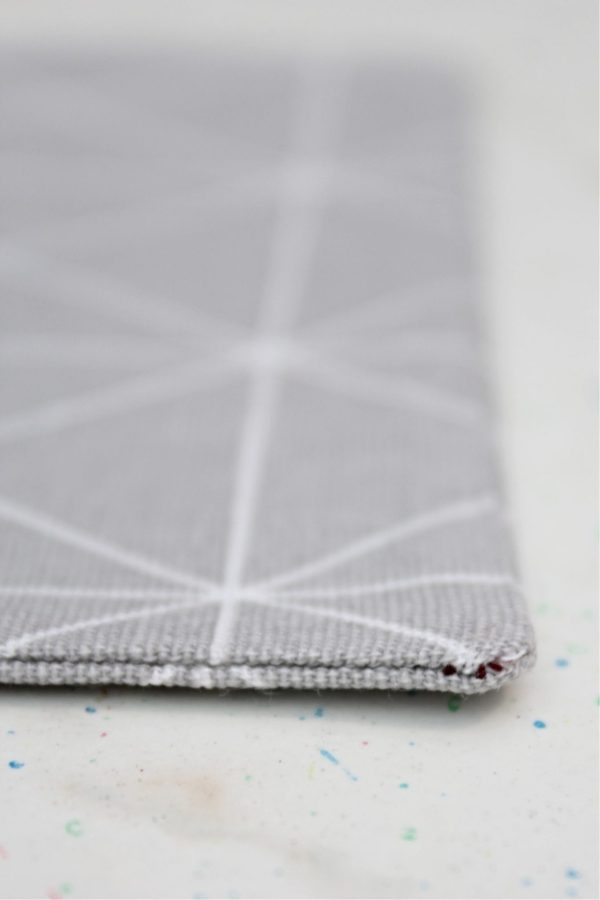 Sewing tutorial: Tip for getting sharp corners