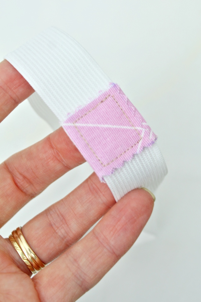 Sewing tutorial: Bulk-free elastic join