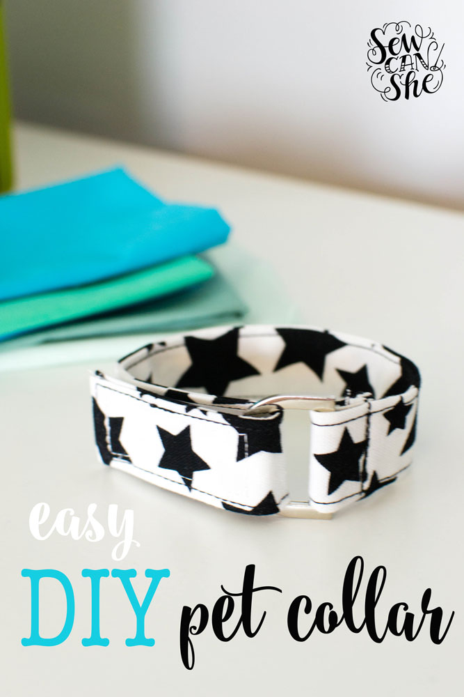 Sewing tutorial: Adjustable pet collar