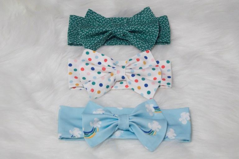 Sewing tutorial: Easy knit bow headband