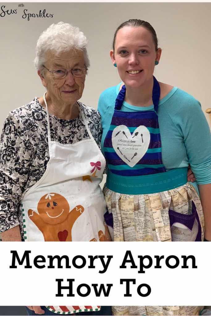 Memory Apron - Recipes Re-imagined