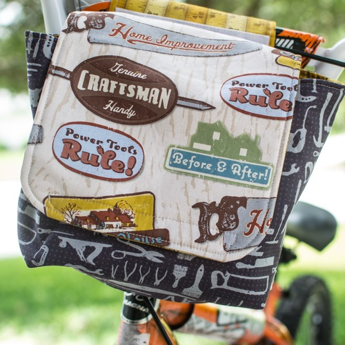 Sewing tutorial: Bicycle messenger bag