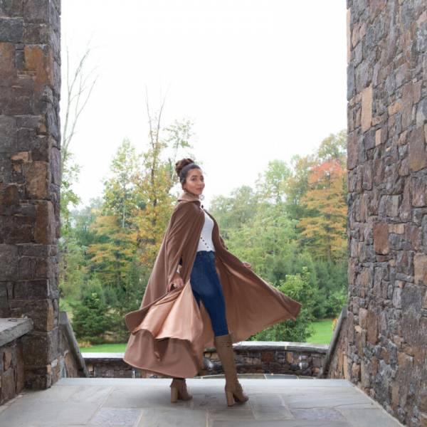 Free pattern: Warm winter cape