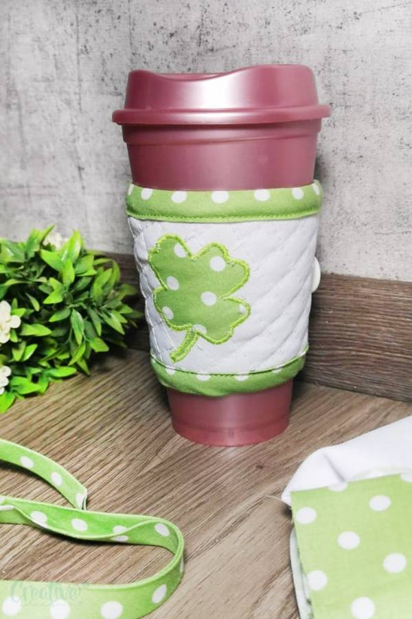 Sewing pattern: St. Patrick's Day coffee cozy