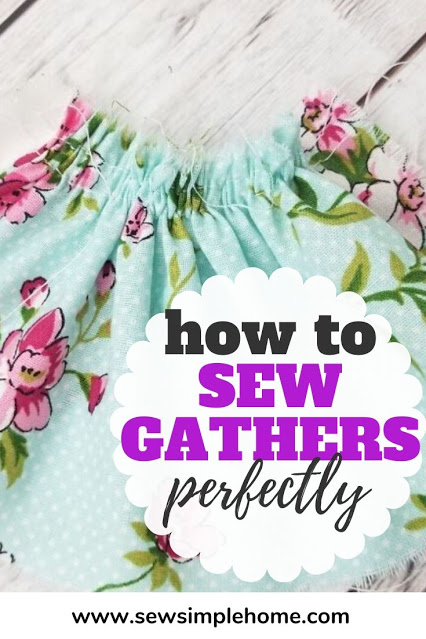 How to Sew Pretty Gathers - Sewing Tutorial