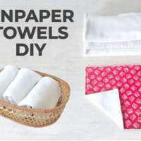 Reusable Unpaper Towels - DIY Sewing Tutorial
