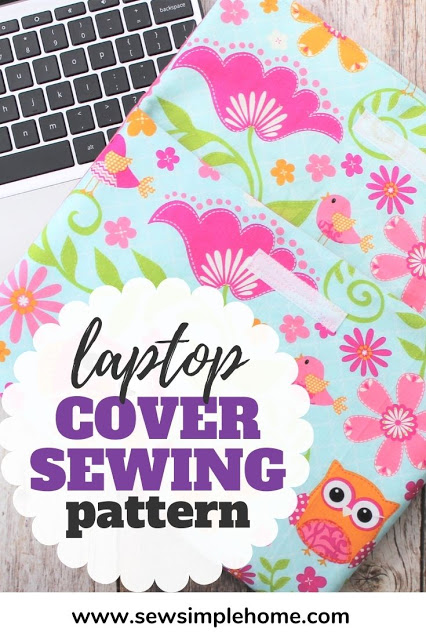 Easy Laptop Sleeve - DIY Sewing Tutorial