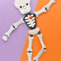 Jointed Felt Skeleton Plushie - Free Sewing Pattern