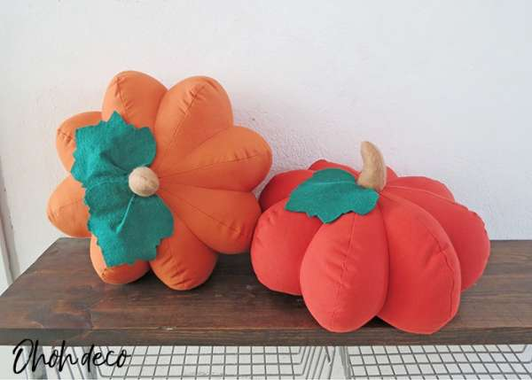 Pumpkin Pillow Sewing Pattern