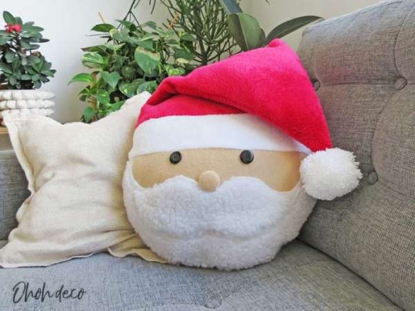 Santa Pillow Sewing Pattern