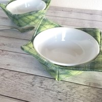 Soup Bowl Cozy - DIY Sewing Tutorial