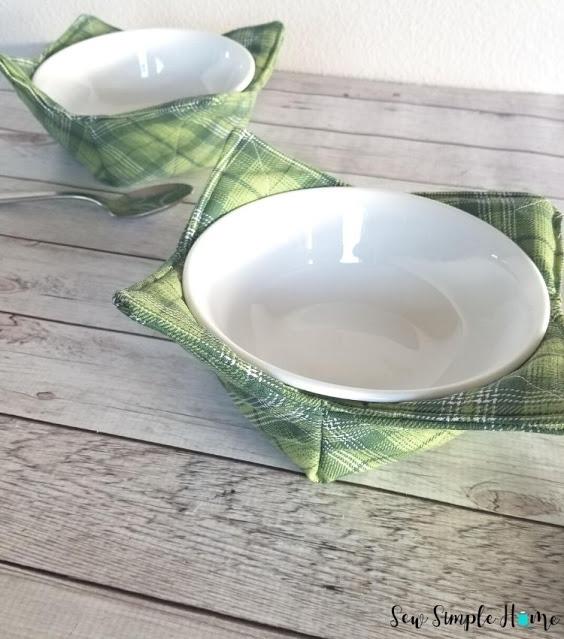 Soup Bowl Cozy - DIY Sewing Tutorial